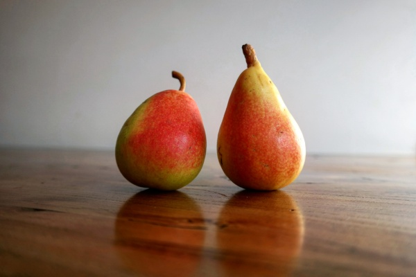 Baby pears Ercolini from Jumilla, Spain