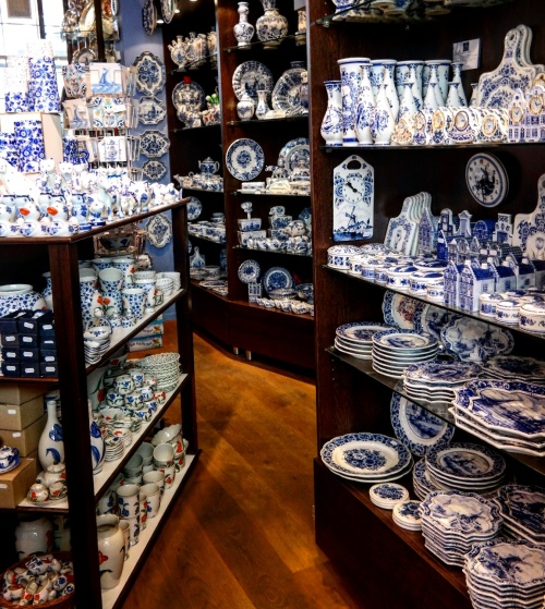 Snap of Delft Blue.