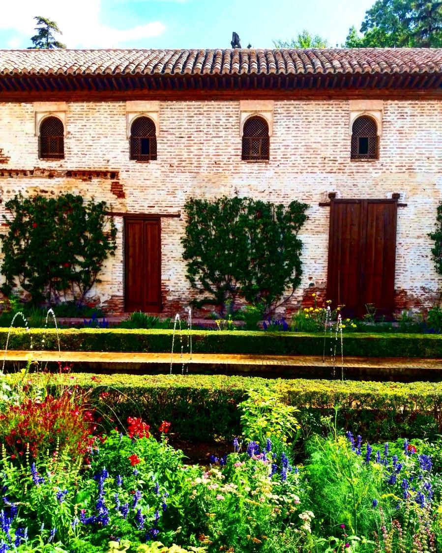 Generalife gardens in La Alhambra