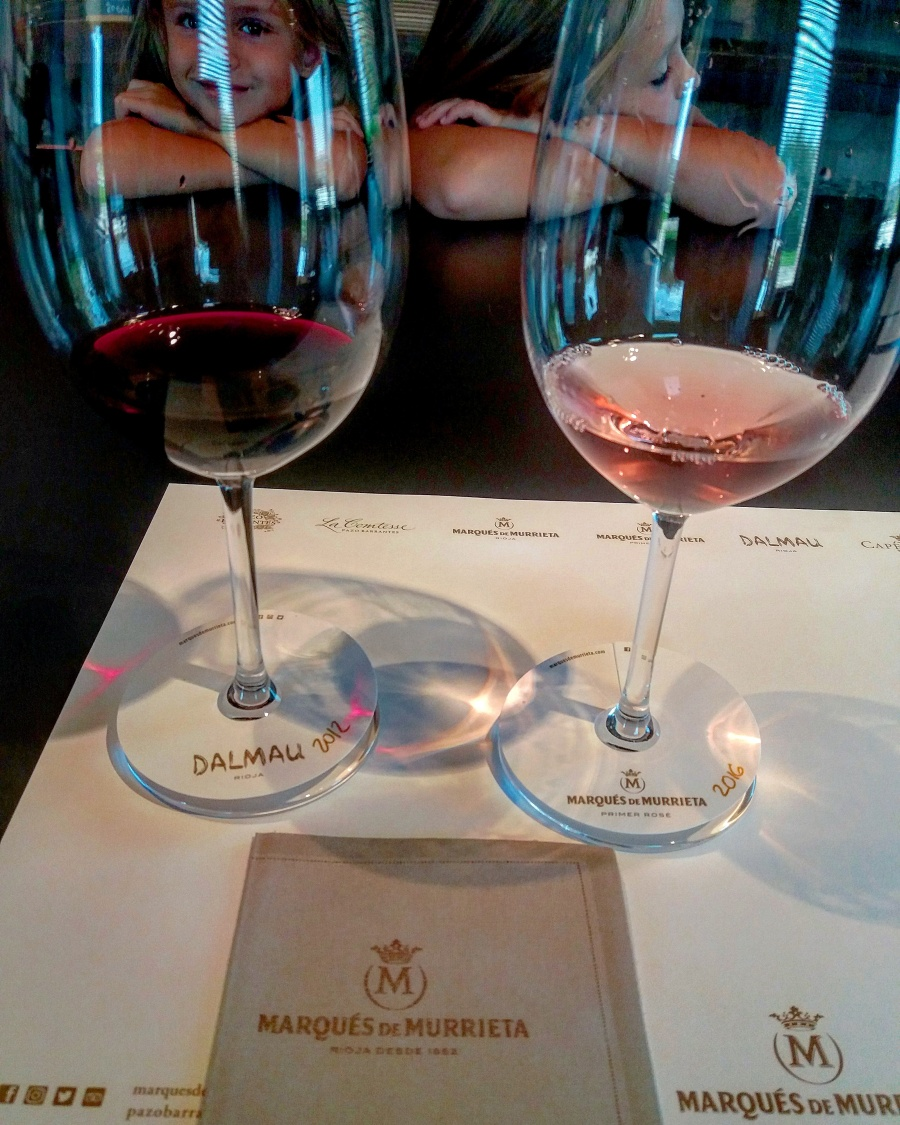 Wine tasting at Marqués de Murrieta