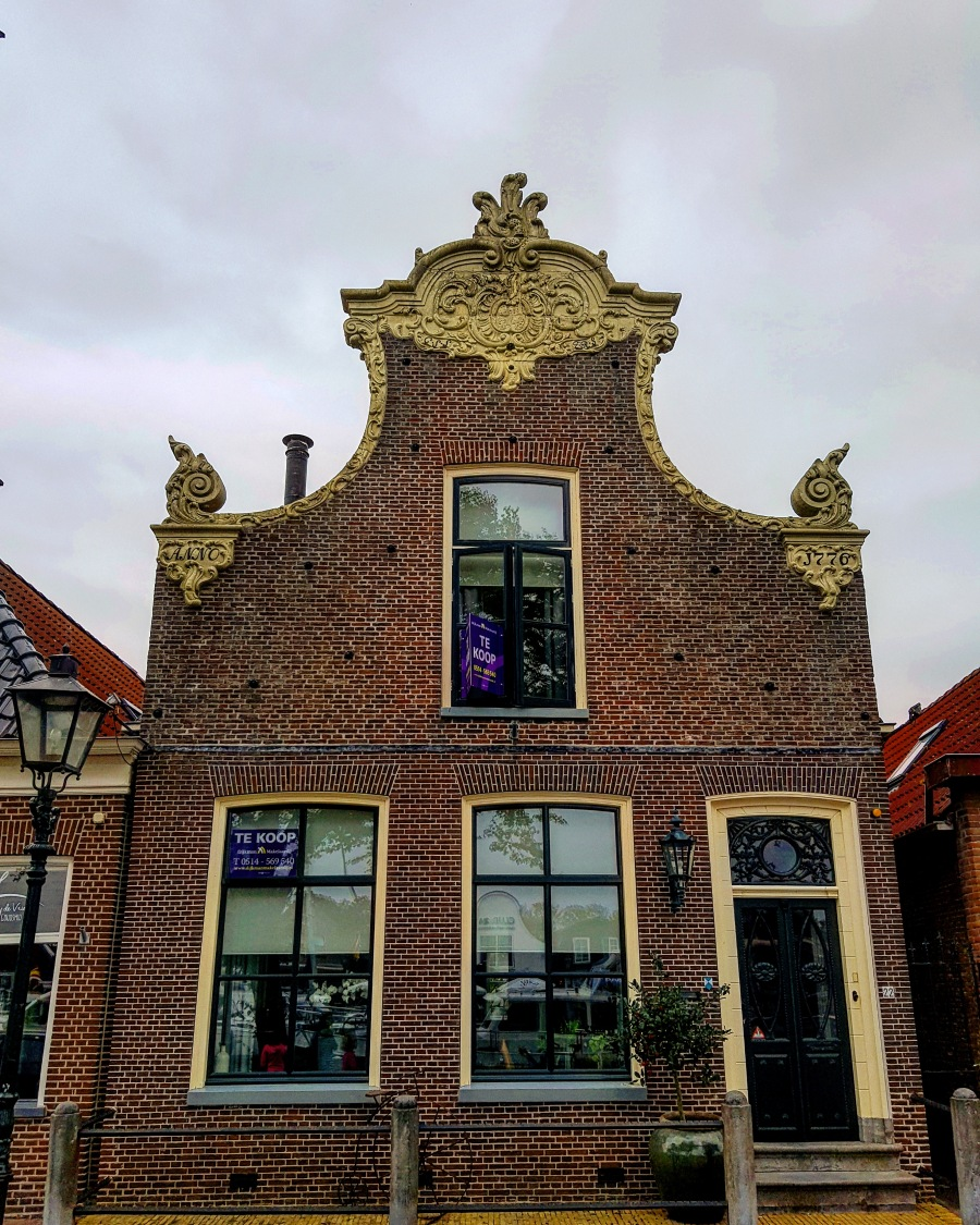 This beautiful house in Lemmer was 'te koop' (for sale)