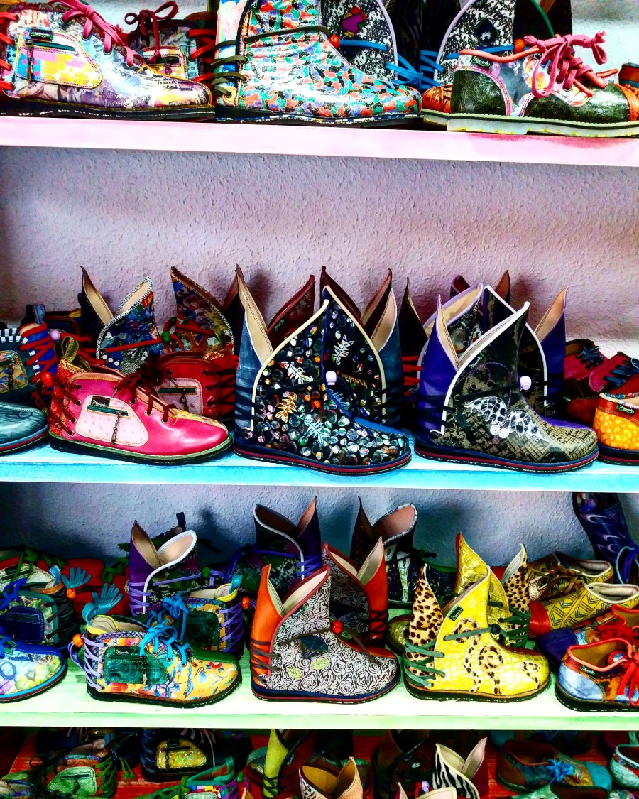 Cute Shoes in La Alberca